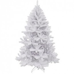 Сосна штучна Triumph Tree Edelman Icelandic iridescent біла з блиском, 1.85м