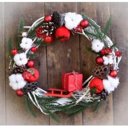 """Вінок """"Зима іде, подарунки..."""