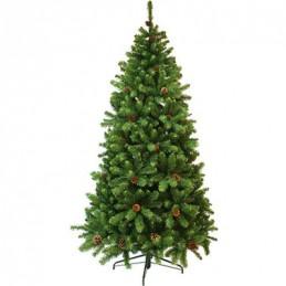 Ялина штучна з шишками Triumph Tree Edelman Empress зелена, 2.15м